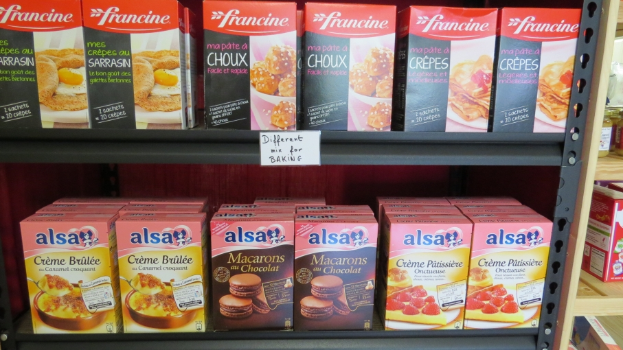 MA France in Lexington sells French junk food that fulfills