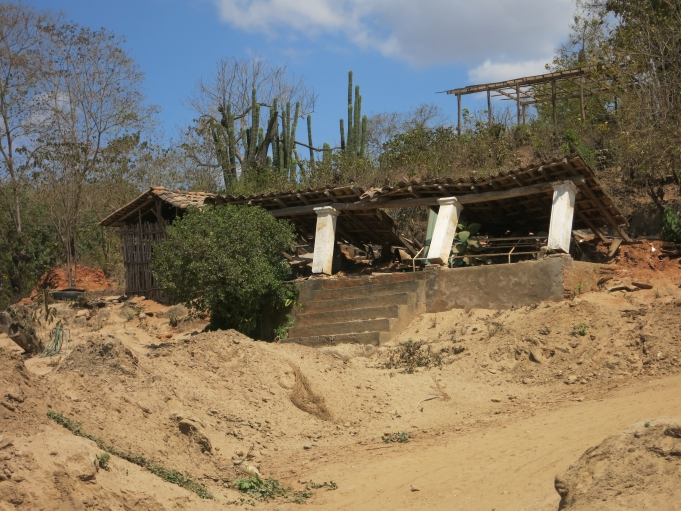 The community of Cacahuatapec is still in ruins, more than six months after Tropical Storm Manuel hit the region.