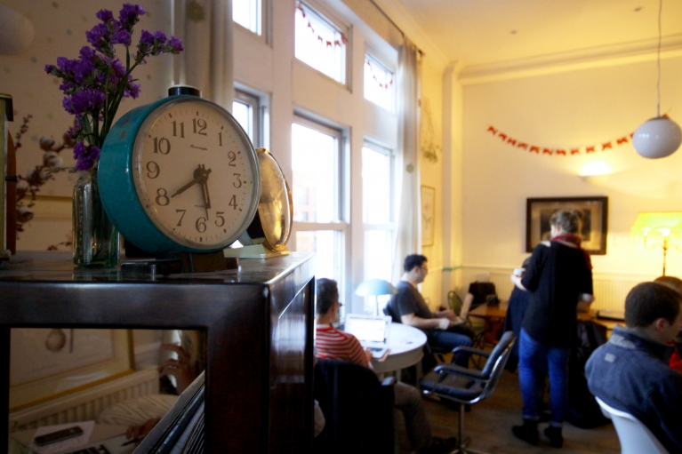 Inside Cafe Ziferblat, London's trendy new pay-by-the-minute cafe