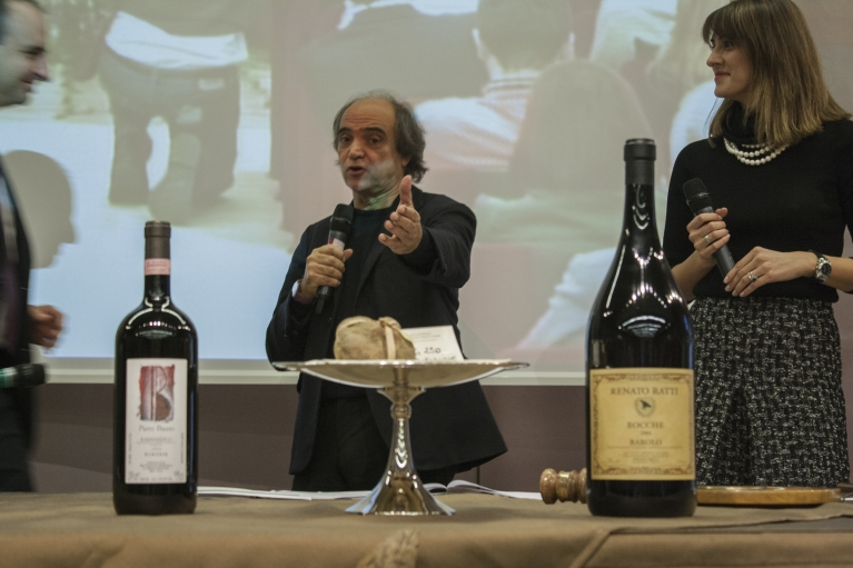 At the International White Truffle Auction in Alba, Italy, truffles are auctioned off for thousands of dollars to bidders from across the globe.