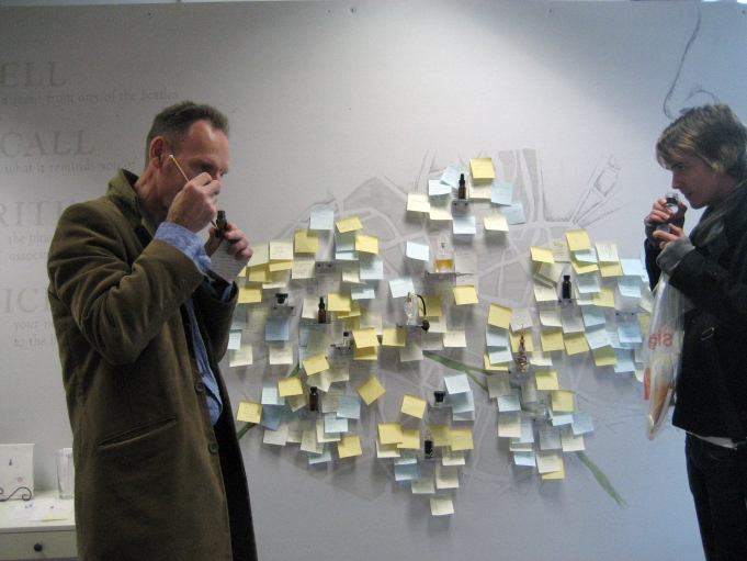 Getting a whiff of Paris from a smell map installation