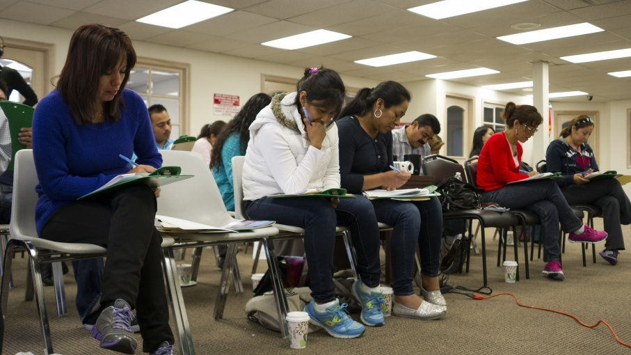 "Many undocumented immigrants have never taken a driver's test before. Mexican consulates, community organizations, colleges and the DMV are working to prepare immigrants to take the test in January. DMV spokesperson Armando Botello says, ""We don't want to"