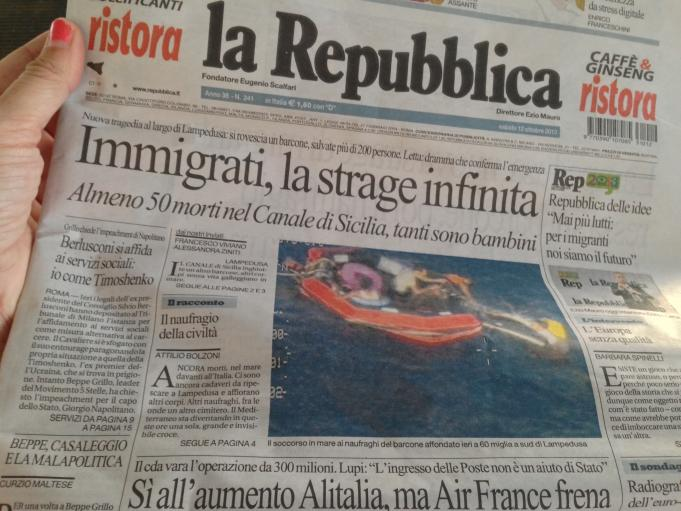 The shipwreck in Lampedusa made national headlines for weeks in Italy and drew a public denunciation from Pope Francis who had visited the island in July 2013.