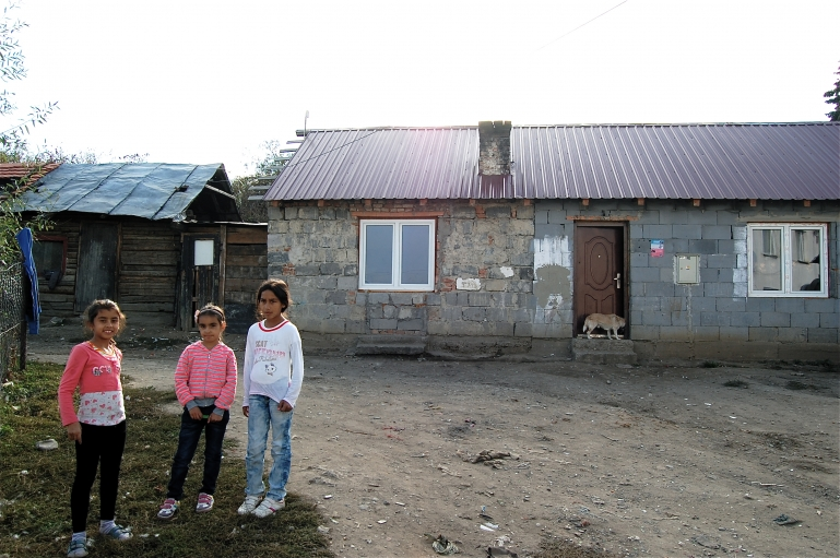 Local kids in Ostrovany.