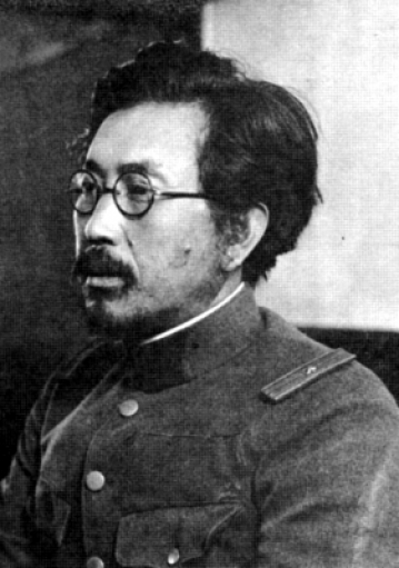 Shiro Ishii in 1932. Ishii was commander of Unit 731, which carried out experiments involving biological and chemical weapons, and vivisection on live subjects.