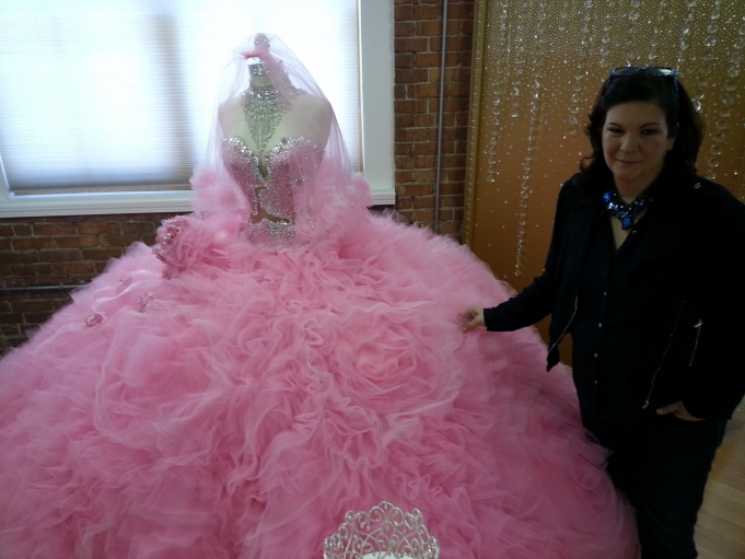 Designer Sondra Celli With A Gypsy Wedding Dress