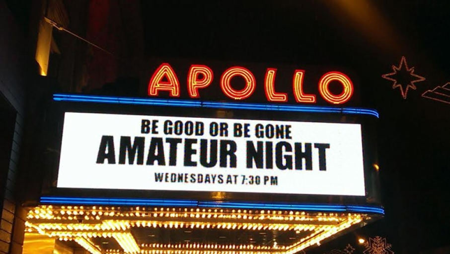Apollo theatre amateurs night