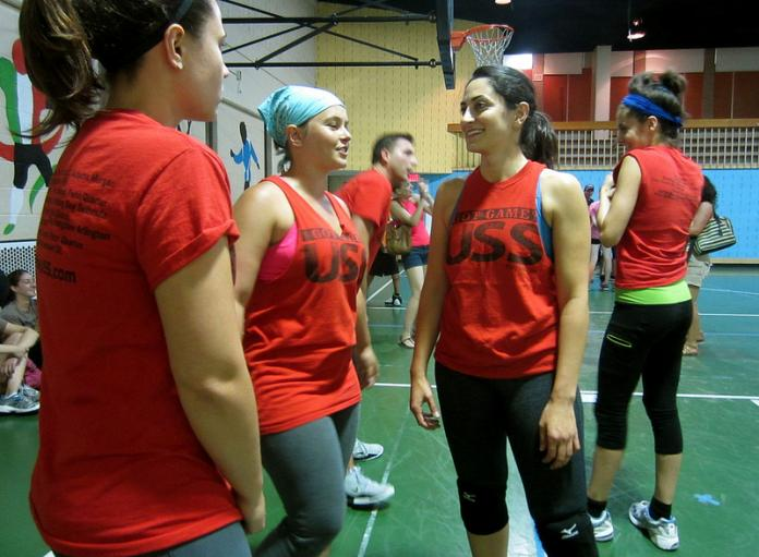 Asgari is an Iranian-American and recently represented the US at the World Dodgeball Invitational in New Zealand.