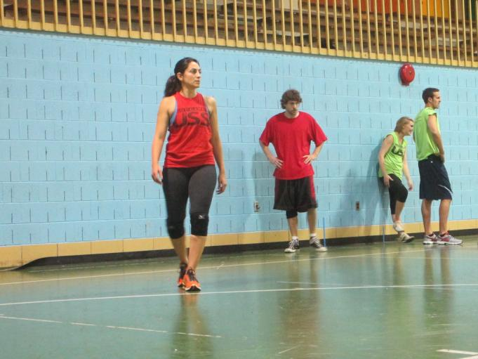 Asgari says her Persian upbringing and a game called 'Vasatii' helped make her a dodgeball powerhouse.