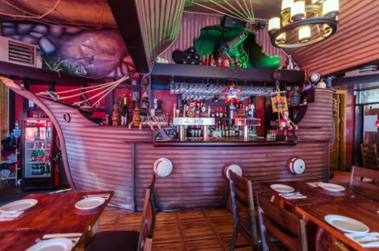 A russian pirate theme restaurant in brighton beach gives