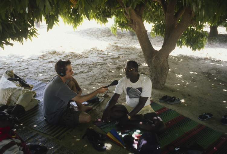 Marco Werman interviews Ali Farka Touré