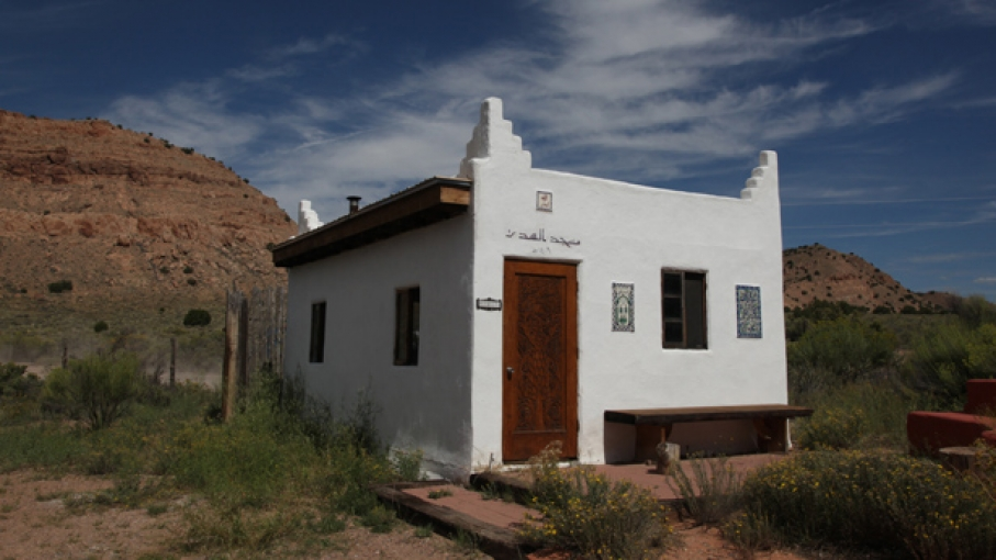 A mosque in Abiquiu, New Mexico