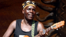 Zimbabwe's Oliver 'Tuku' Mtukudzi's career spanned four decades and 67 albums