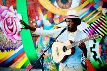 Beatboxer Christylez Bacon takes globalization seriously