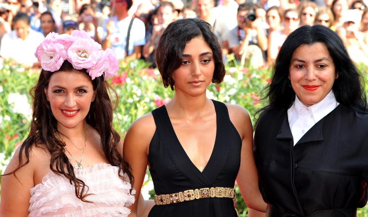 Golshifteh Farahani, Iranian actress has been banned from
