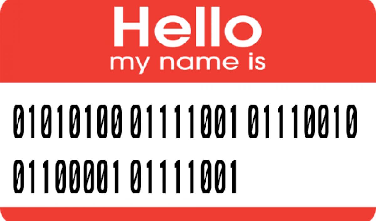 Write Your Name In Binary Code Public Radio International