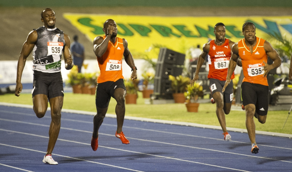 Yohan Blake beats Usain Bolt in 200 meter sprint at Jamaican Olympics trials | The World from PRX