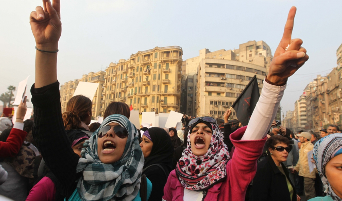 Sexual harassment in egypt still widespread