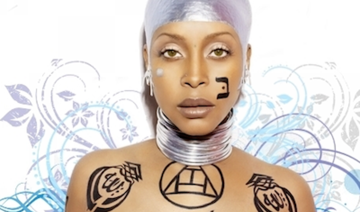 Malaysia Erykah Badu Banned For Allah Body Art The World From Prx