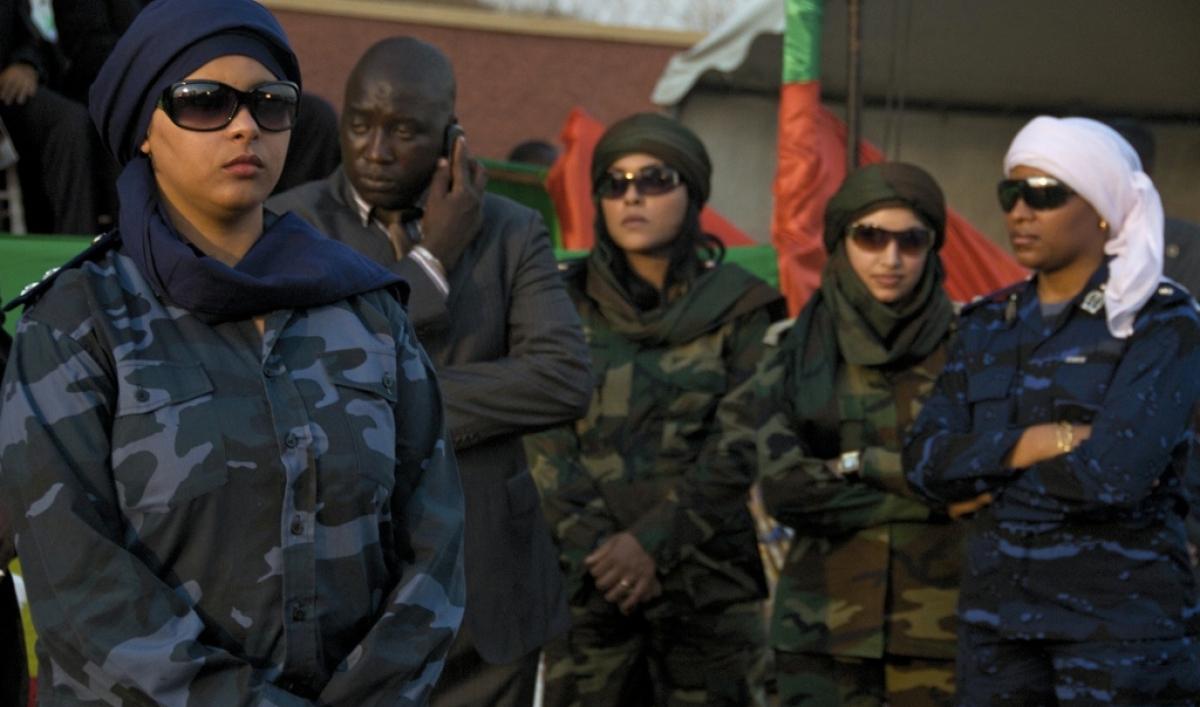 Photos Gaddafi S Female Bodyguards Public Radio