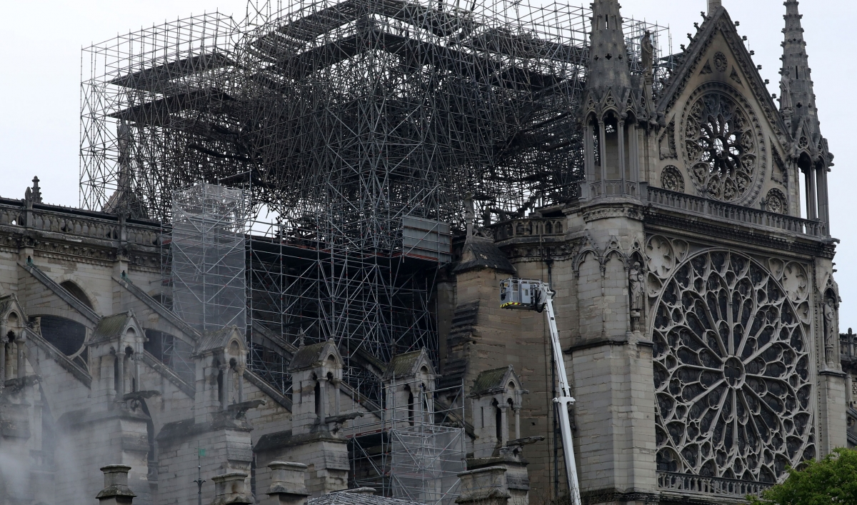 No Sign Of Arson In Notre Dame Blaze As Nation Grieves