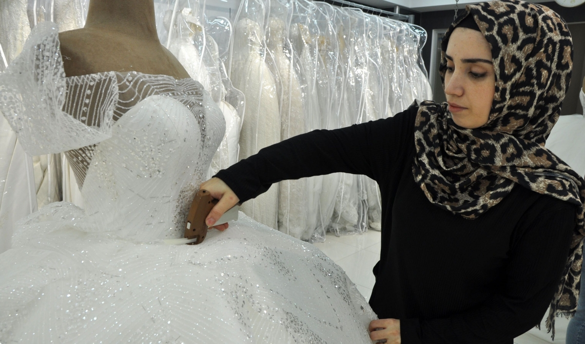 This Turkish Filmmaker Uses Wedding Dresses To Discuss Femicide
