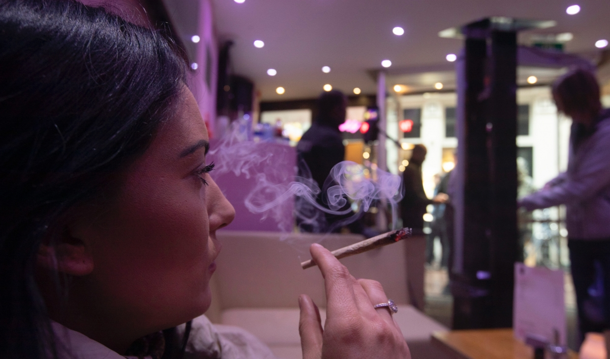 Amsterdam officials move to ban tourists from its cannabis cafés