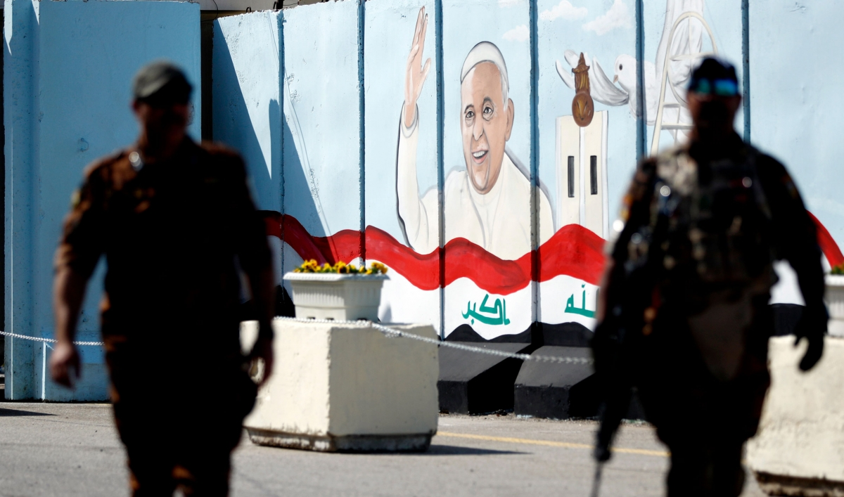 Pope Francis' trip to Iraq comes amid the pandemic and increasing violence