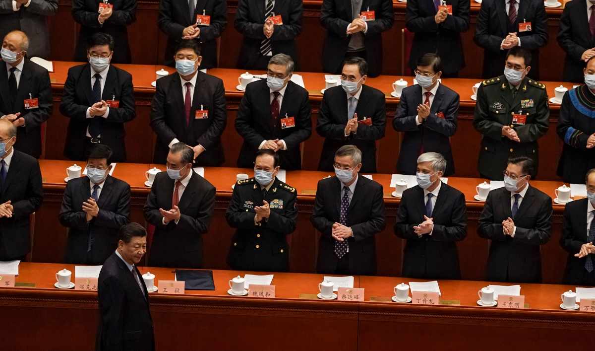 China moves to tighten grip on Hong Kong in NPC