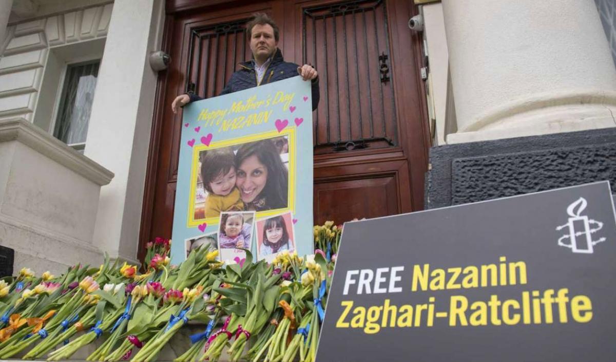 British Iranian woman ends 5-year sentence, but not free yet