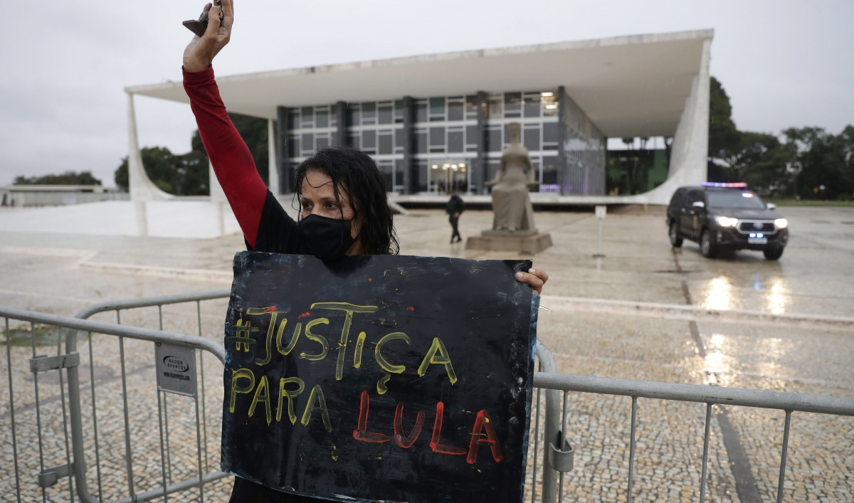 Brazil's Supreme Court throws out corruption convictions against former President Lula