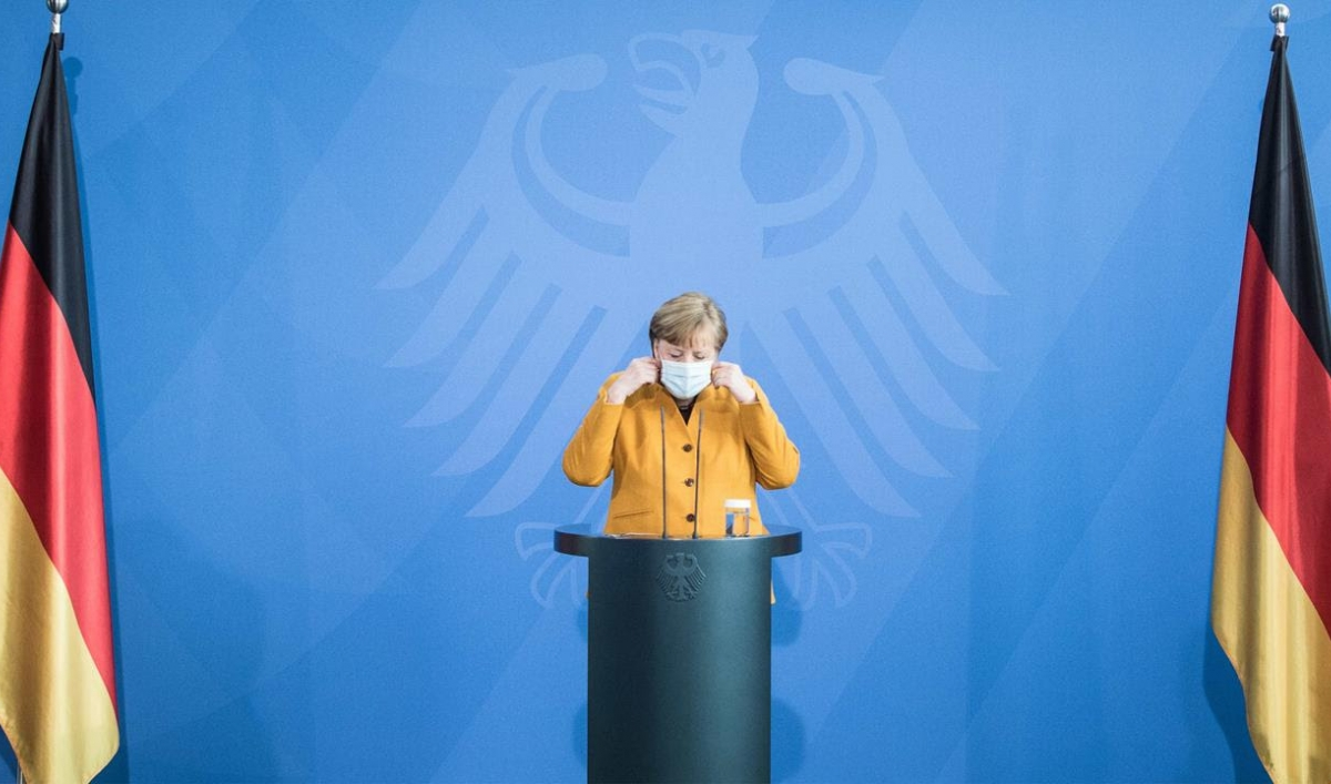 Merkel reverses plan for strict Easter lockdown in Germany