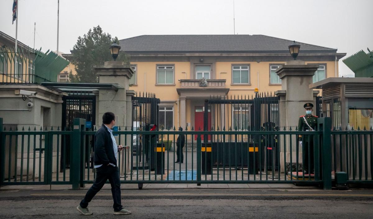 China announces ban on British politicians, organizations