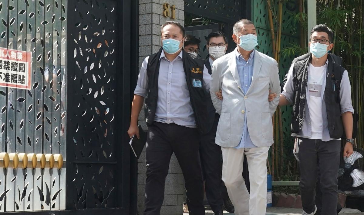 Pro-democracy advocate Jimmy Lai sentenced in Hong Kong