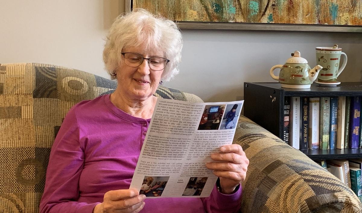 A toddler's newsletter inspires joy for isolated seniors in Toronto