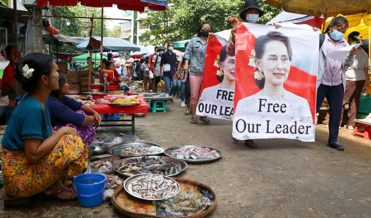 'Our unity is our hope,' exiled Myanmar envoy says