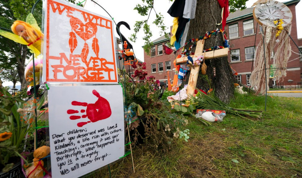 First Nation in Canada finds hundreds of unmarked graves at former residential school