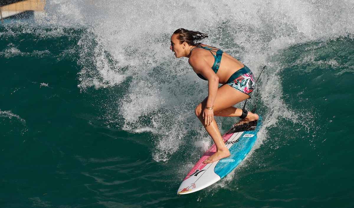 Hawaiians highlight surfing's cultural roots as it makes its Olympic debut