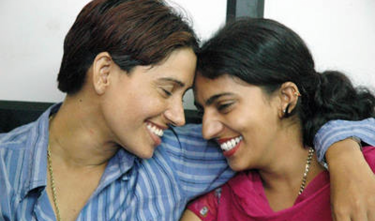 Indian lesbian couple