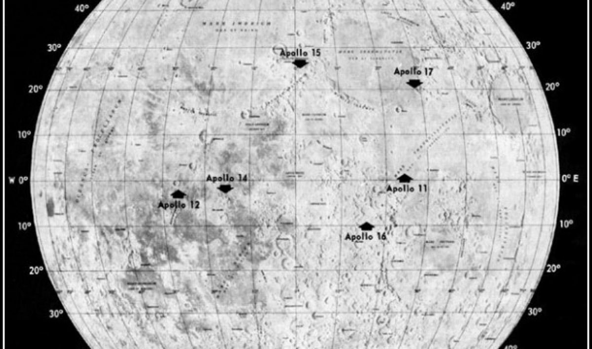 how to see all six apollo moon landing sites sky amp telescope - 640×640