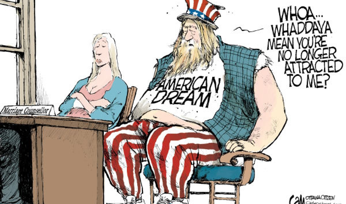 an analysis of the meaning of the american dream