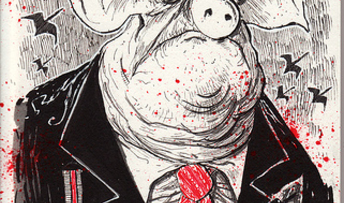 animal farm satirical dipiction of the The book animal farm, is a political satire of a totalitarian society ruled by a mighty dictatorship, in all probability an allegory for the events surrounding the russian revolution the.