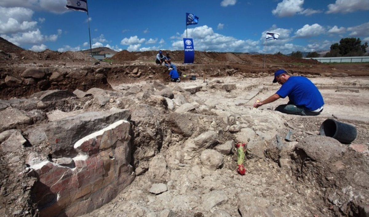 Awesome discovery by Israeli archaeologists