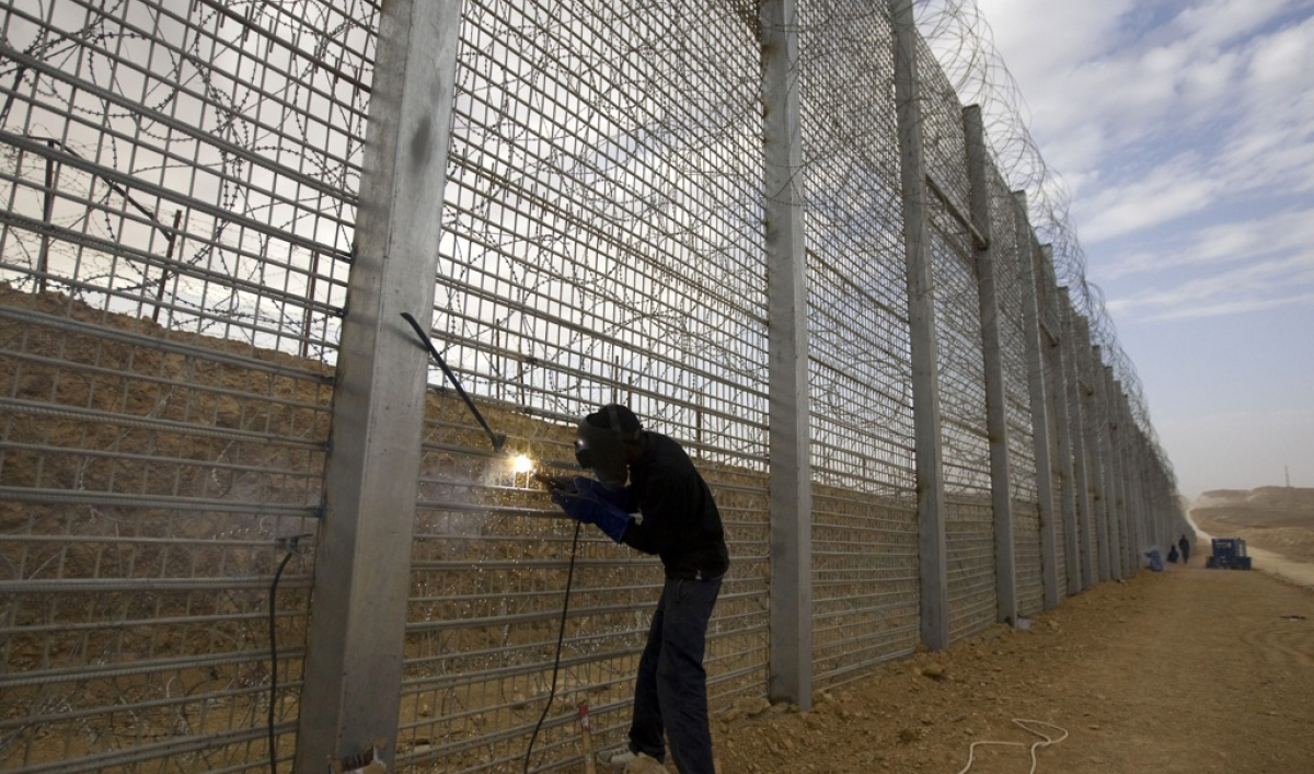 Israel Built A New Border Wall To Prevent Migrants From