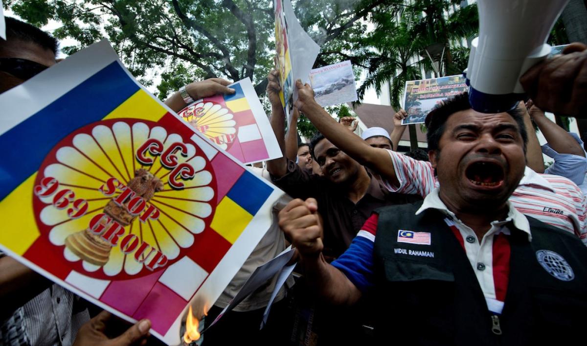 Myanmar's '969' crusade breeds anti-Muslim malice | Public Radio  International