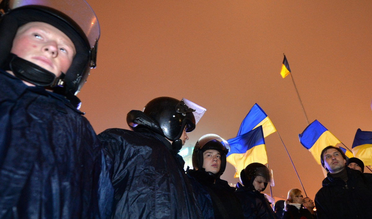 Ukraine PM does not want his country to become a 'battlefield' between EU, Russia