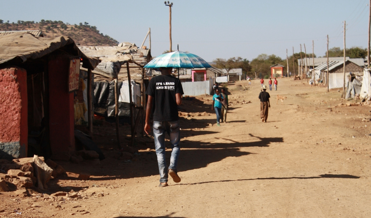 It's April, which means Eritrea's refugees are headed north