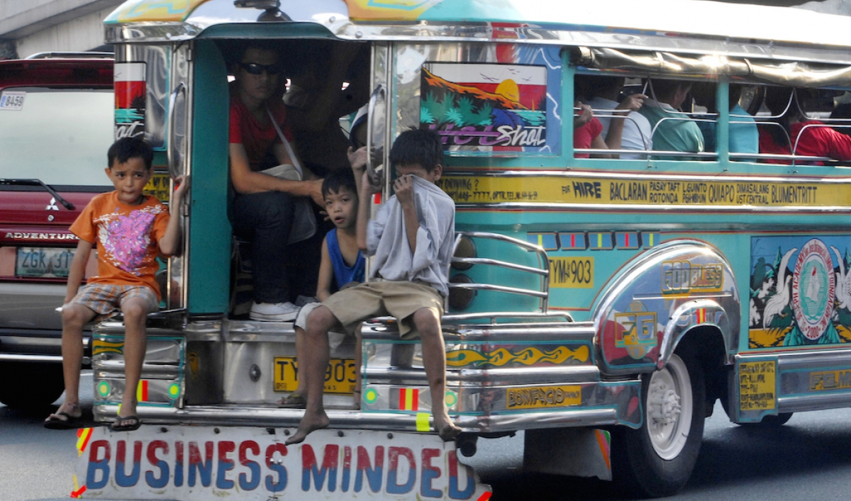 The Philippines Built A Tricked Out Popemobile Jeepney