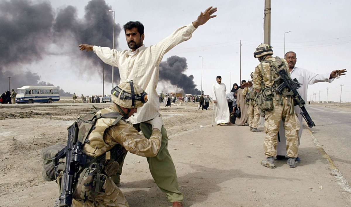 war in iraq thesis statement The iran-iraq war 1980-1988 was fought over control of the persian gulf operation desert storm january to febuary 1991 was fought to remove iraq.