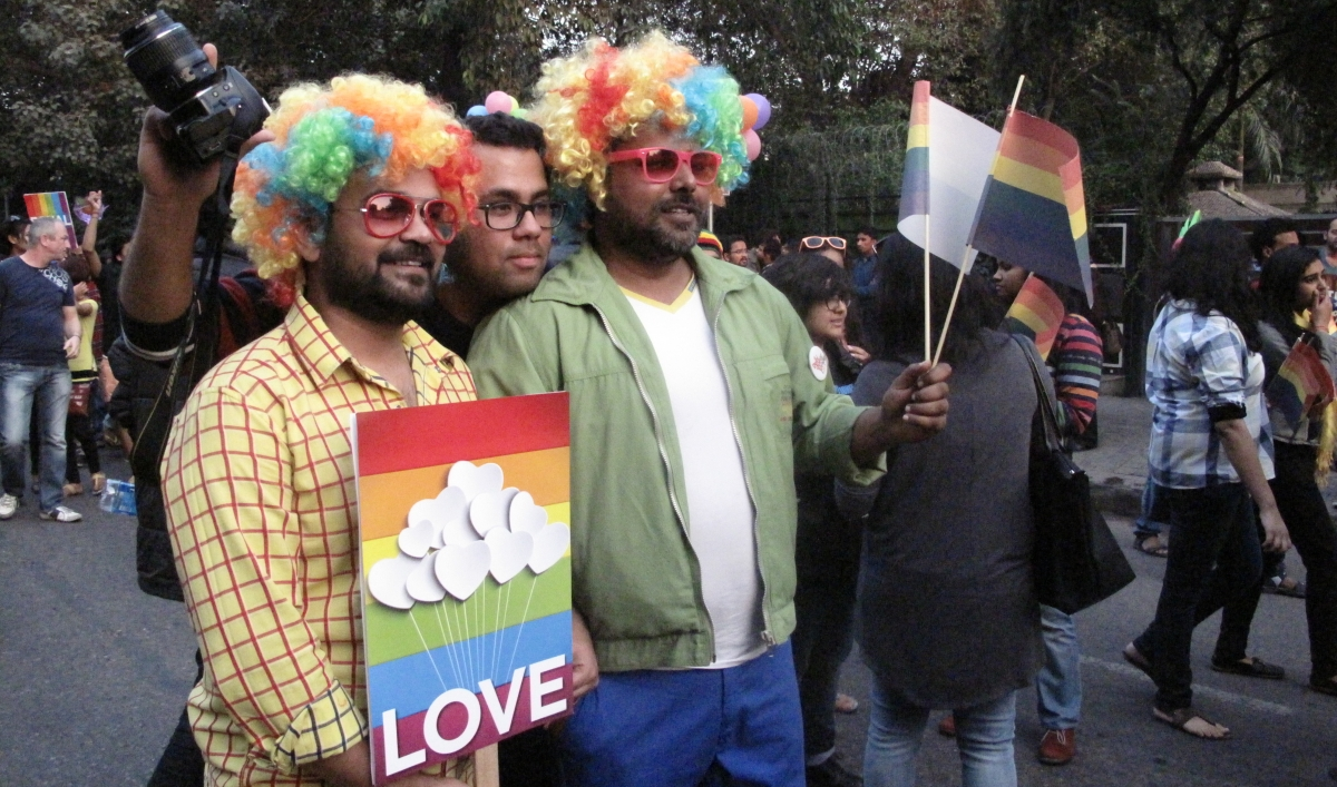 Delhi's LGBT Pride parade shows what a difference a decade ...